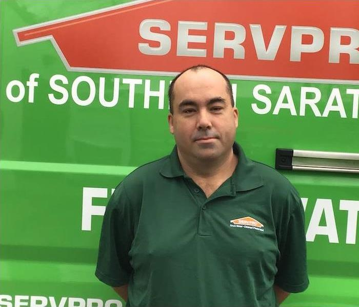Male SERVPRO technician